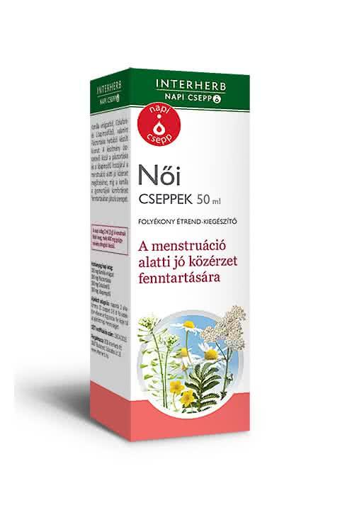 Interherb Napi női cseppek 50 ml.