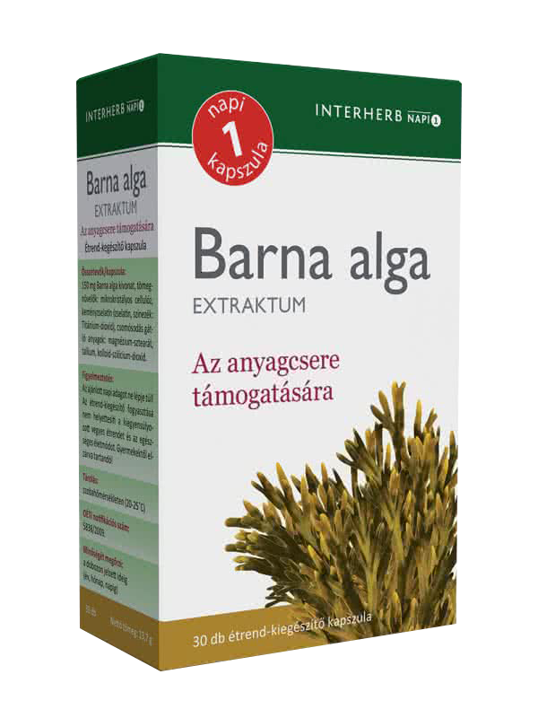 Interherb Barna alga Extraktum  30 kap.