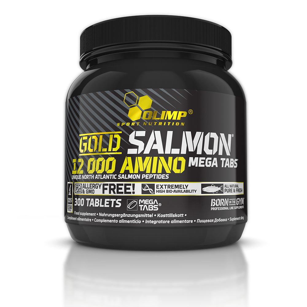Olimp Sport Nutrition Gold Salmon 12000 Amino Mega Tabs 300 tab.