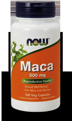 Now Foods Maca 500mg 100 kap.