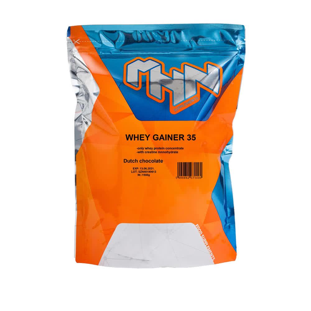 MHN Sport Whey Gainer 35 1,5 kg