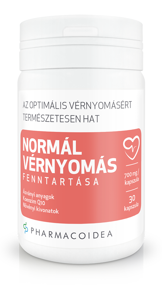 PharmacoIdea Normál Vérnyomás fenntartása 30 kap.