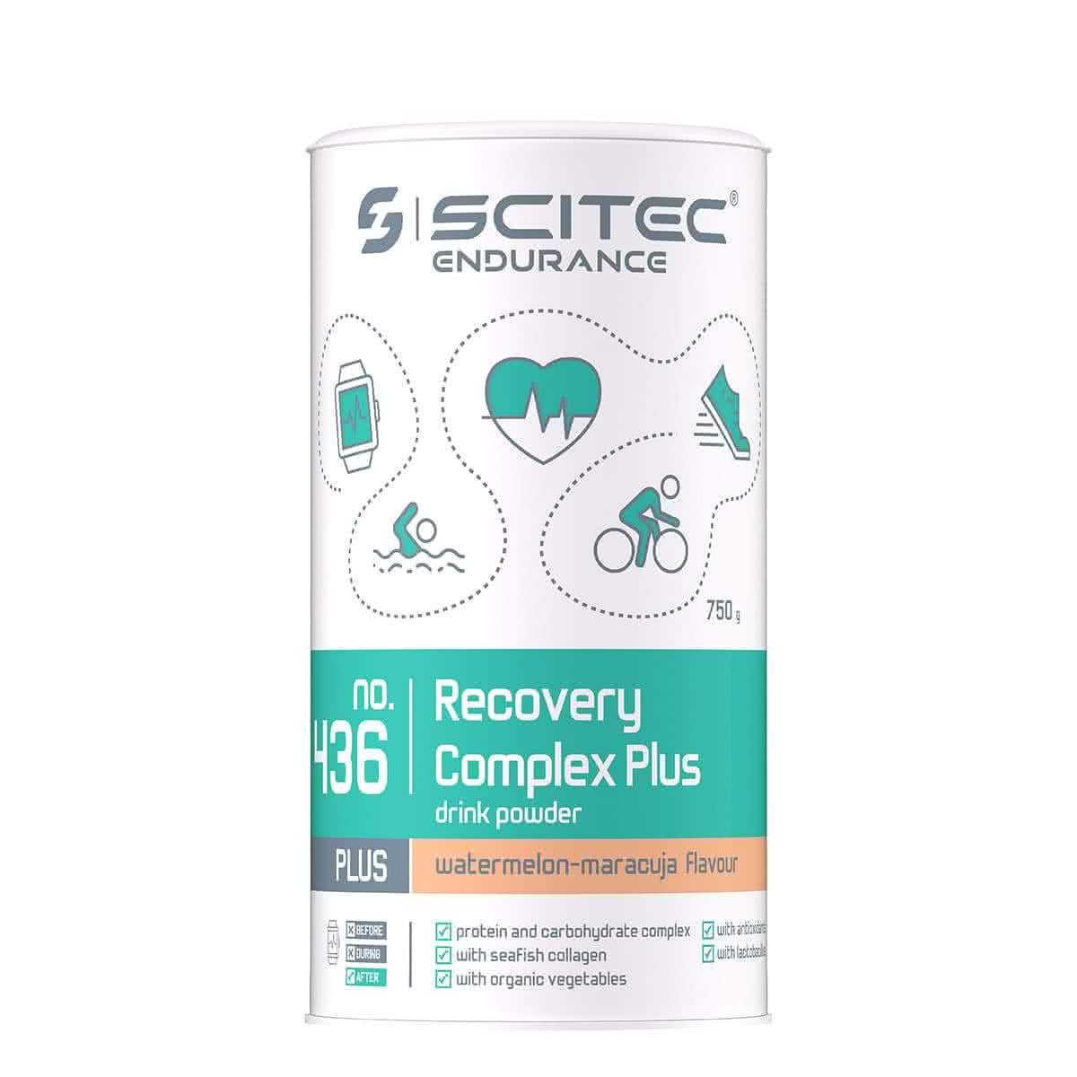 Scitec Nutrition Recovery Complex Plus 0,75 kg