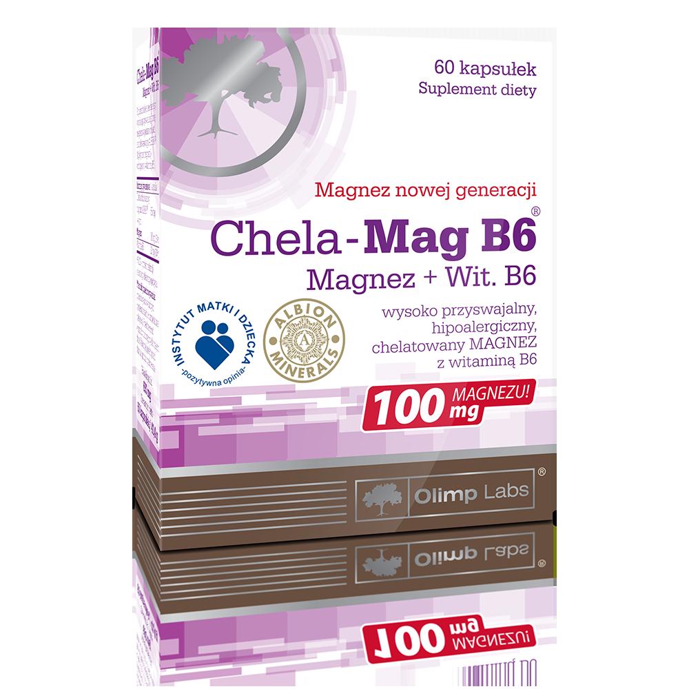 Olimp Sport Nutrition Chela-Mag B6 60 kap.