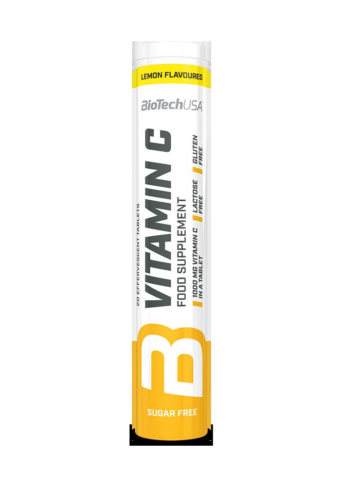 BioTech USA C-vitamin pezsgőtabletta 20 tab.