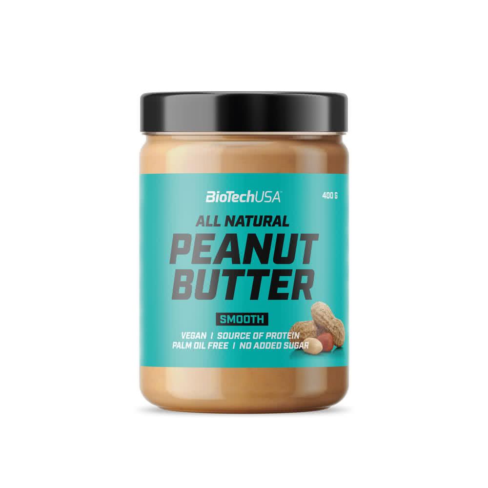BioTech USA All Natural Peanut Butter 400 gr.