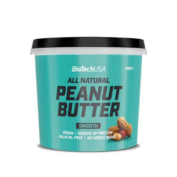 BioTech USA All Natural Peanut Butter 1000 gr.