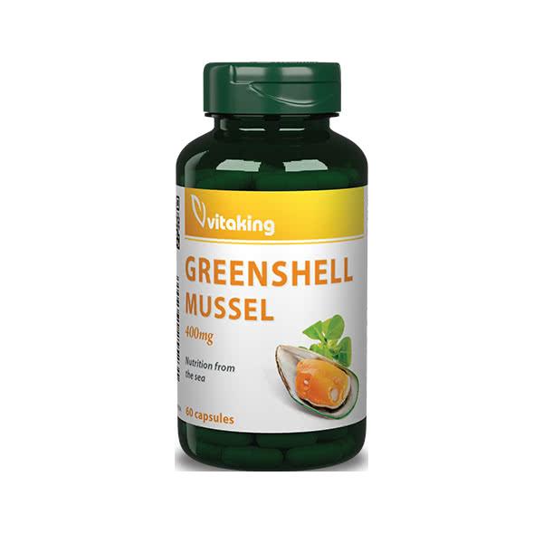 VitaKing Greenshell Mussel (Zöldkagyló) 60 kap.