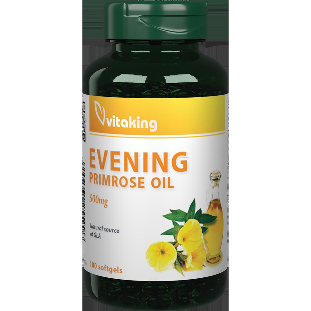 VitaKing Evening Primrose Oil (Ligetszépe olaj) 100 kap.