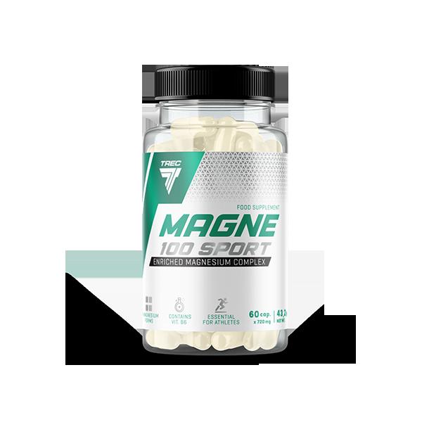 Trec Nutrition Magne-100 Sport 60 kap.