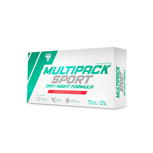 Trec Nutrition Multipack Sport - Day / Night Formula 60 kap.