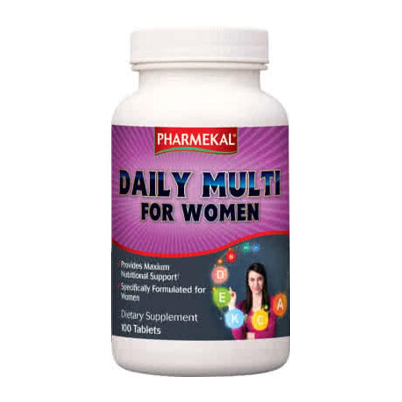 Pharmekal Daily Multi For Women 100 tab.