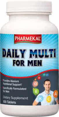 Pharmekal Daily Multi For Men 100 tab.
