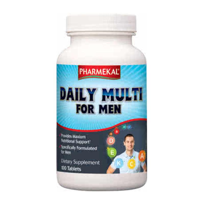 Pharmekal Daily Multi For Men 100 tab.