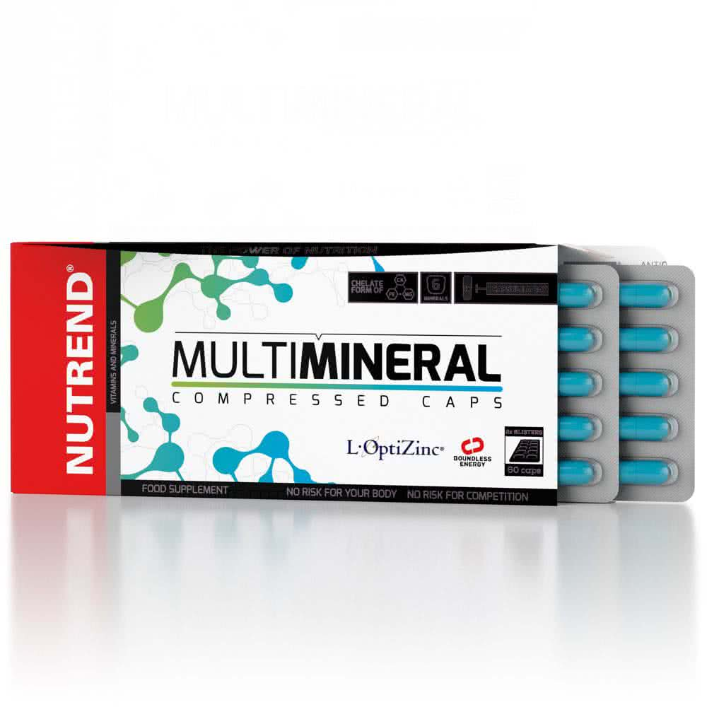 Nutrend MultiMineral Compressed Caps 60 kap.
