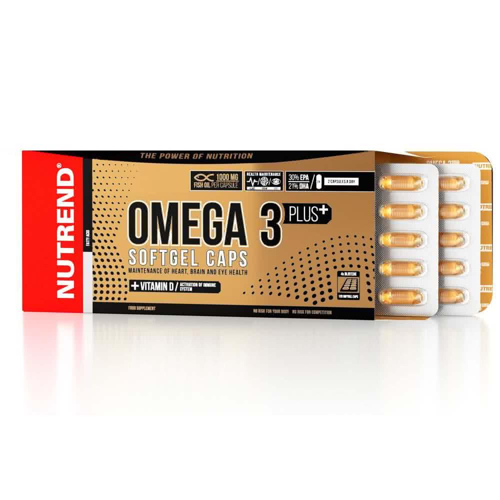 Nutrend Omega 3 Plus Softgel Caps 120 kap.