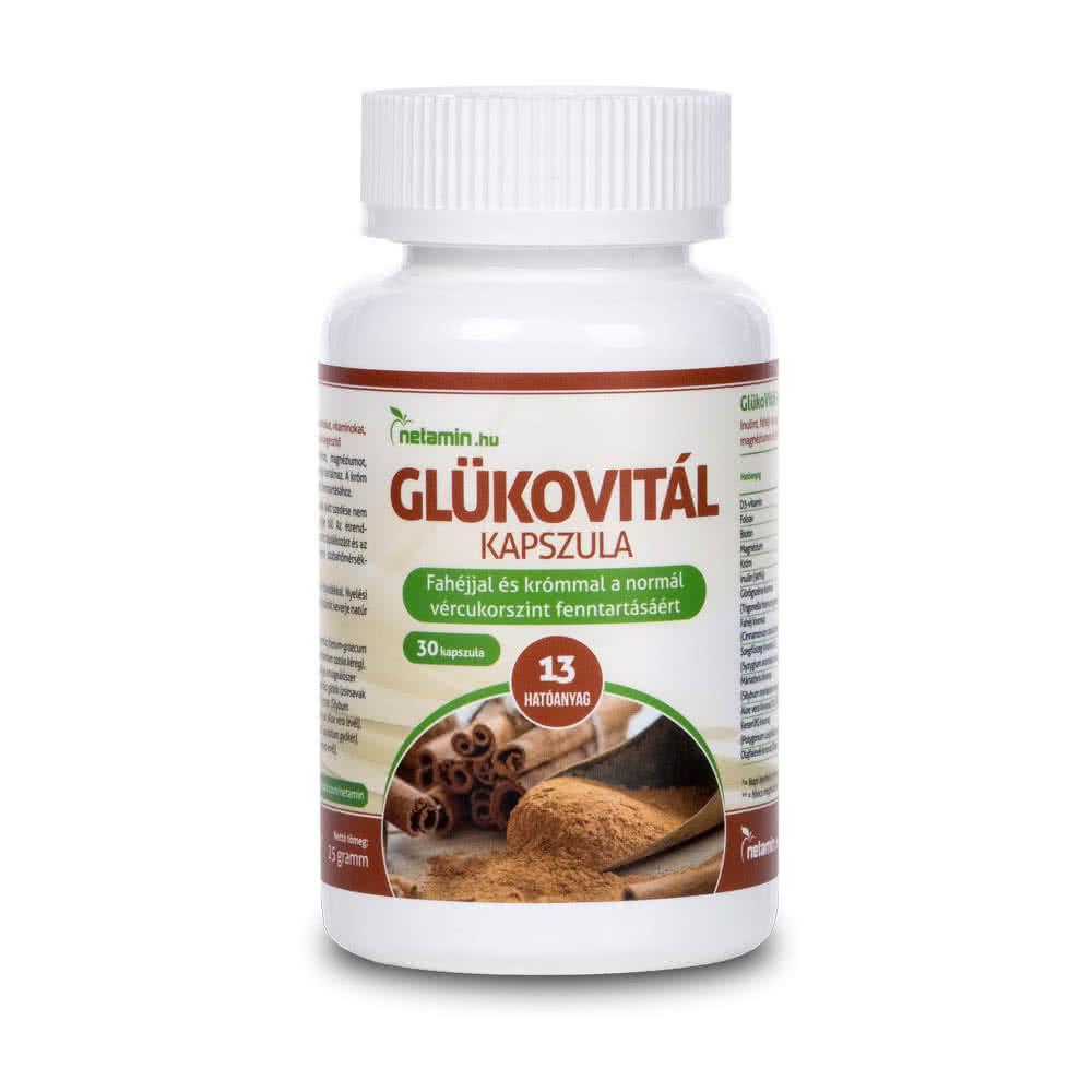 Netamin GlükoVitál 30 kap.