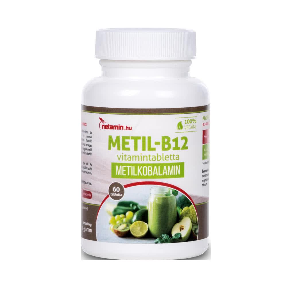 Netamin Metil-B12 60 tab.