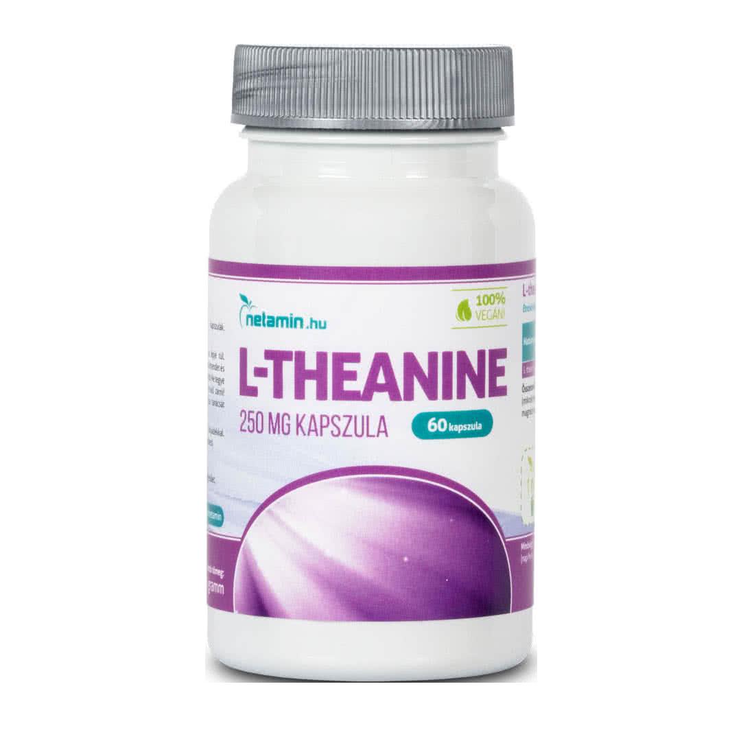 Netamin L-theanine  60 kap.