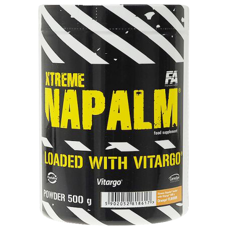Fitness Authority XTreme Napalm Loaded With Vitargo 0,5 kg