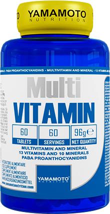 Yamamoto Multi Vitamin 60 tab.