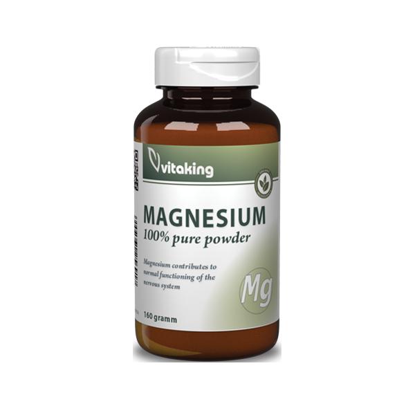 VitaKing Magnézium citrát por 160 gr.
