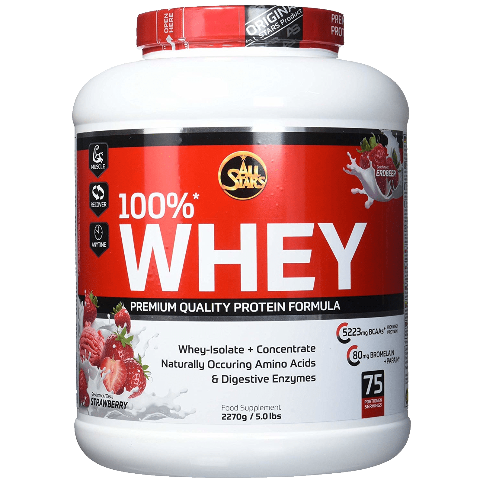 All Stars 100% Whey Protein 2,27 kg
