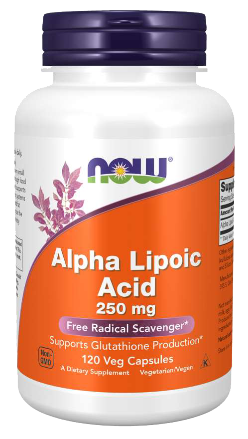 Now Foods Alpha Lipoic Acid 250 mg 120 kap.