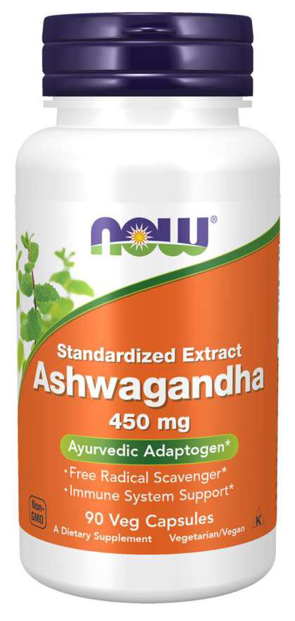 Now Foods Ashwagandha 90 kap.