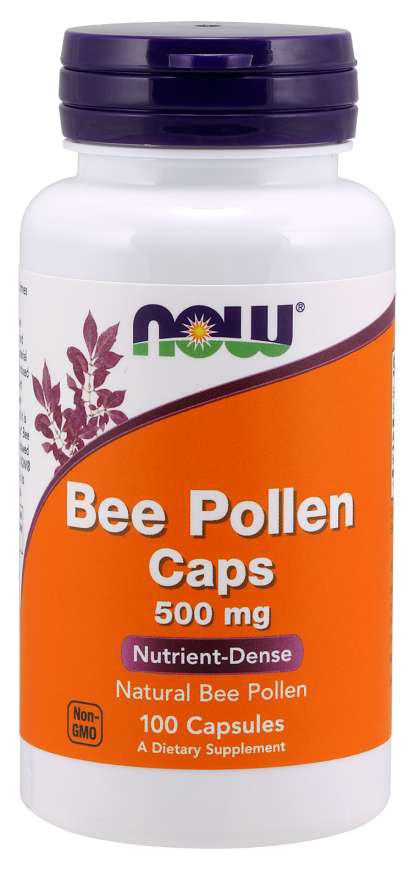 Now Foods Bee Pollen 100 kap.
