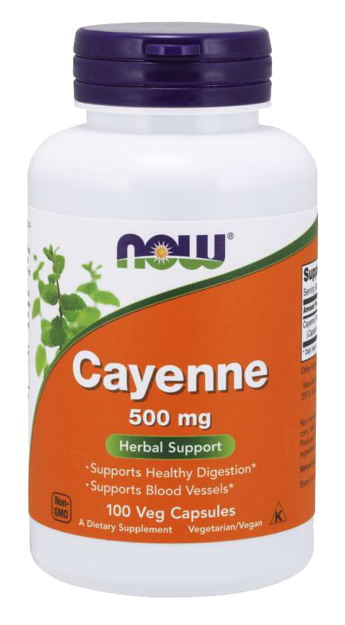 Now Foods Cayenne 100 kap.