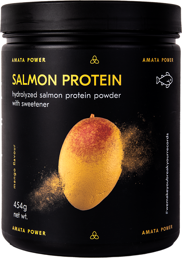 Amata Power Lazacfehérje (Salmon Protein) 0,454 kg