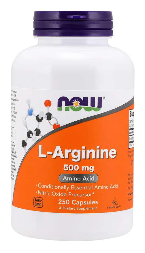 Now Foods L-Arginine 250 kap.
