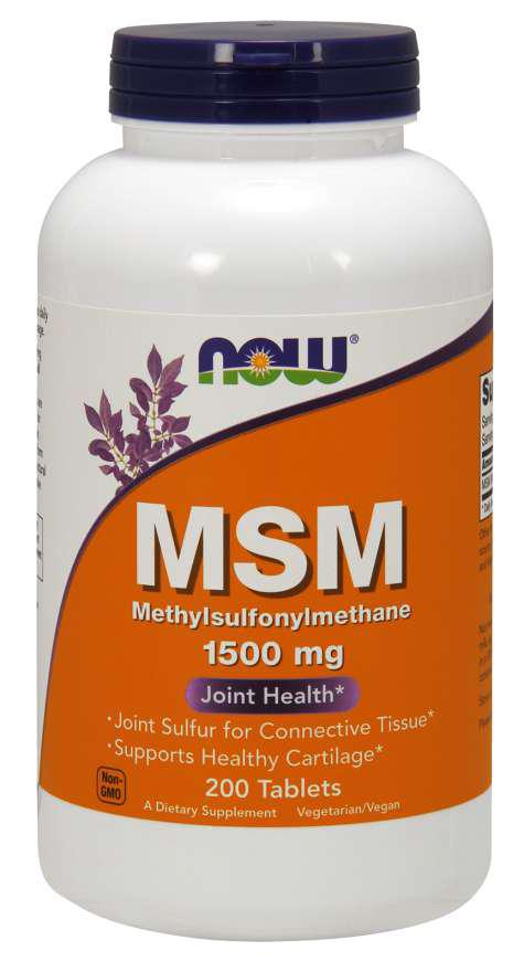 Now Foods MSM 200 tab.