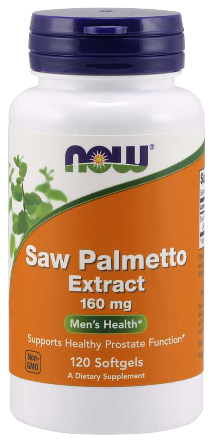 Now Foods Saw Palmetto Extract 120 kap.