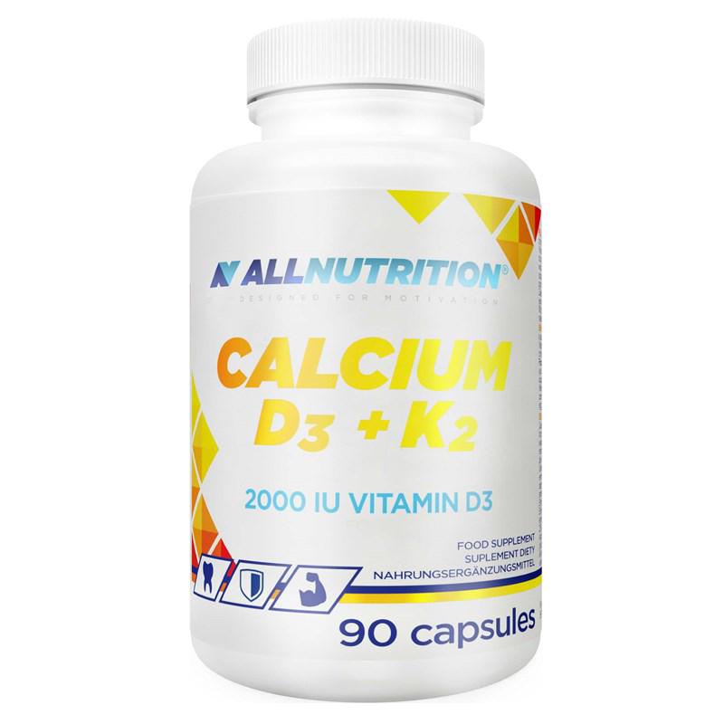 AllNutrition Calcium D3 K2 90 kap.