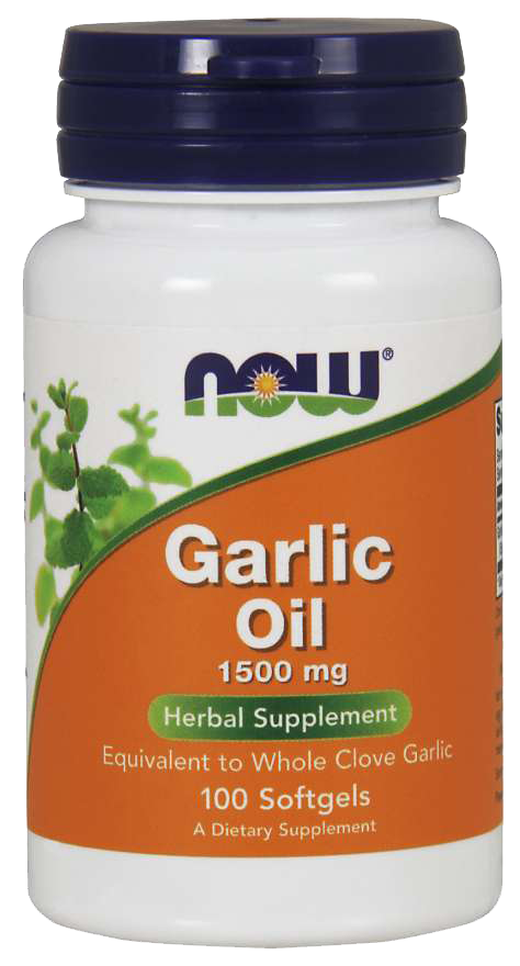 Now Foods Garlic Oil 100 kap.