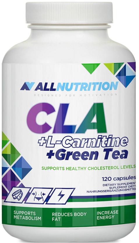 AllNutrition CLA + L-Carnitine + Green Tea 120 kap.