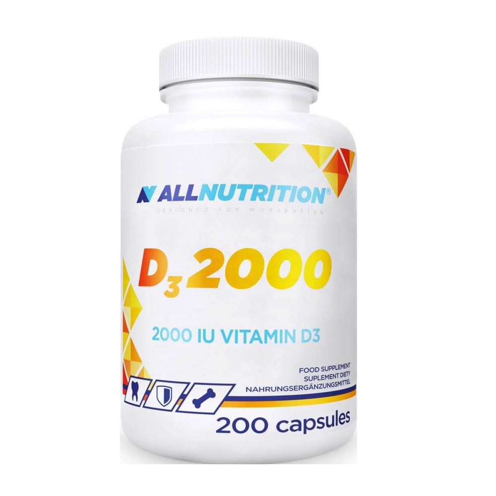 AllNutrition Vitamin D 200 kap.