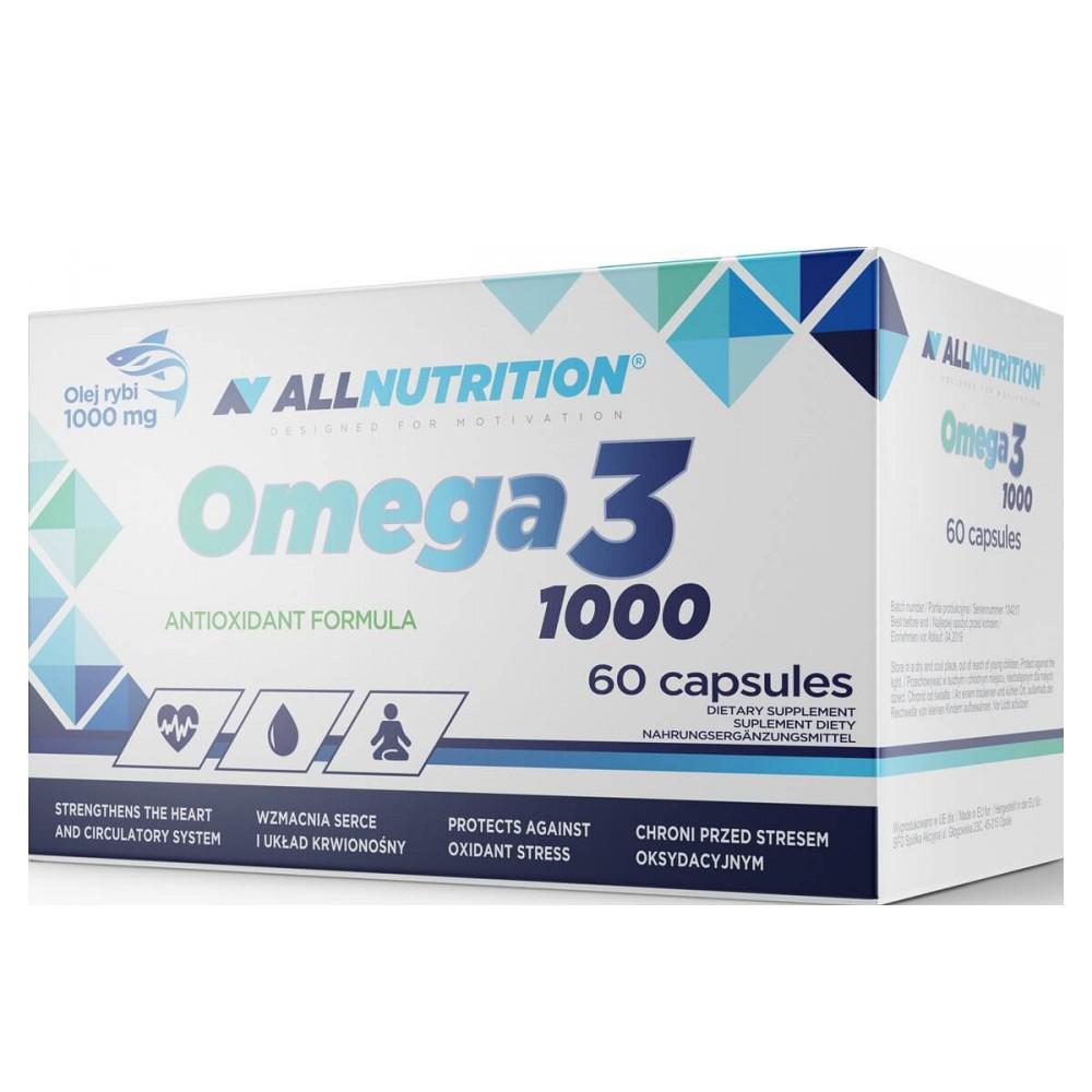 AllNutrition Omega 3 1000 60 kap.