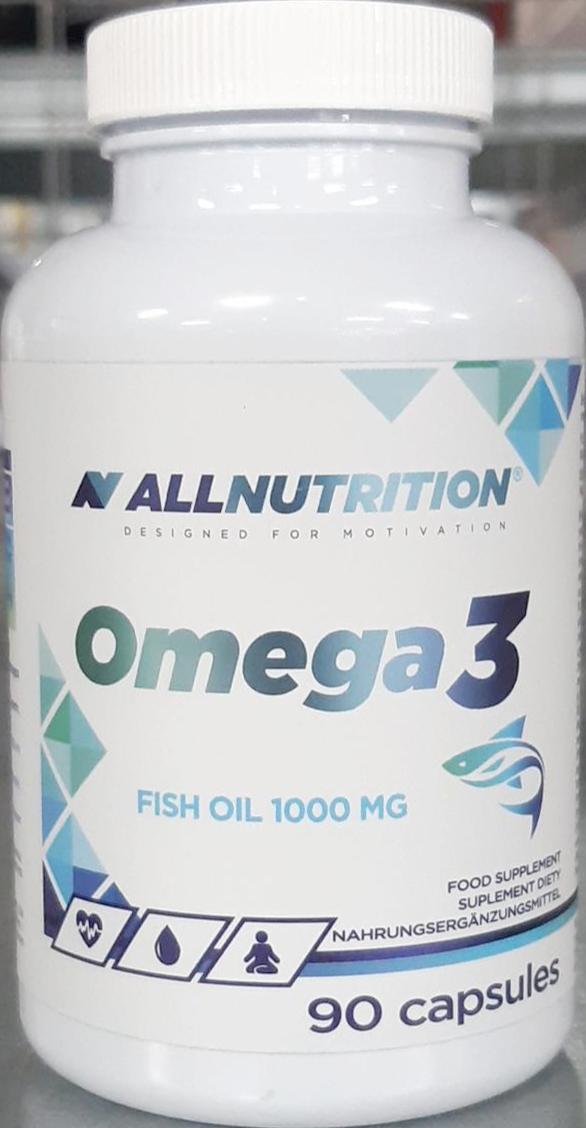 AllNutrition Omega 3 90 kap.