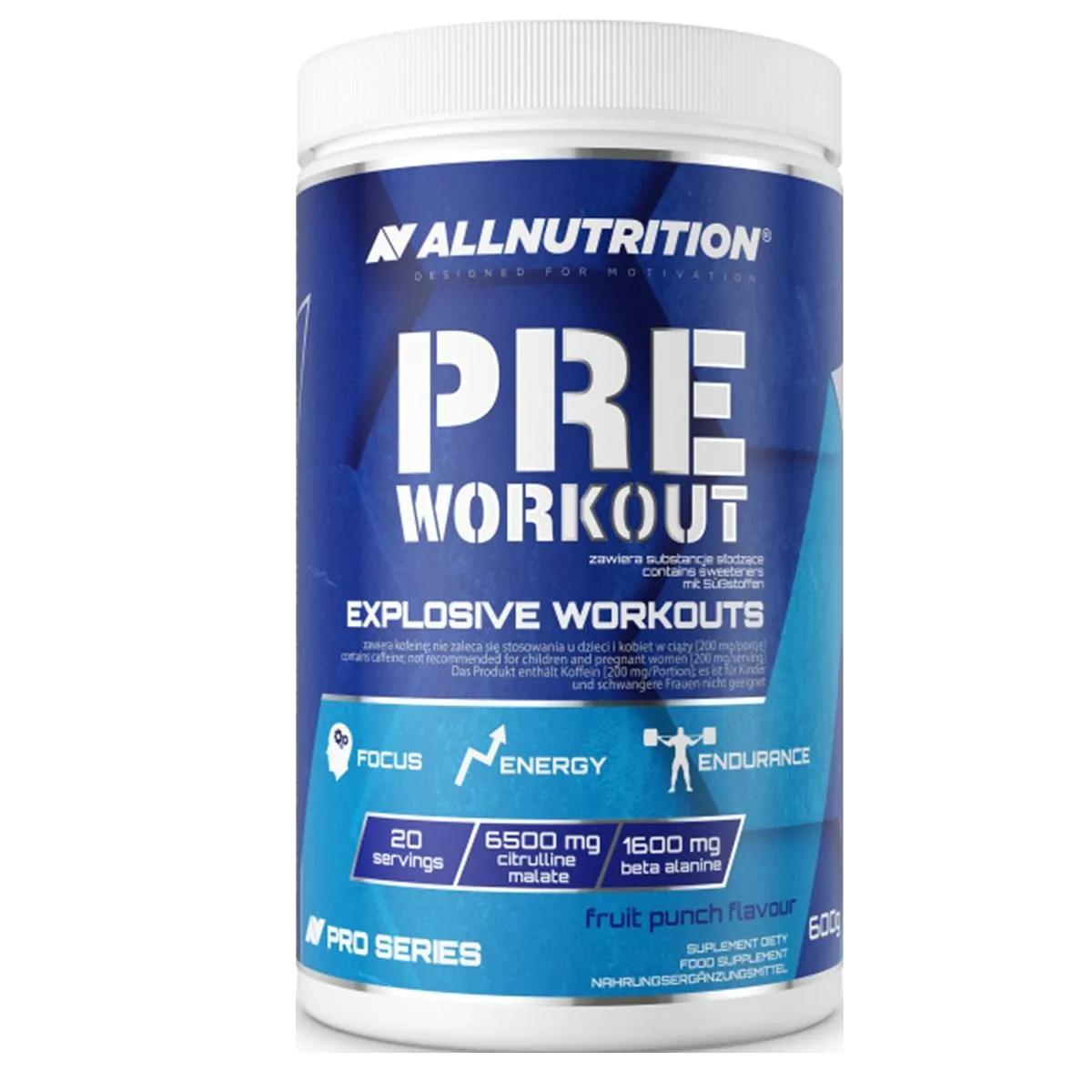 AllNutrition Pre Workout Pro Series 600 gr.