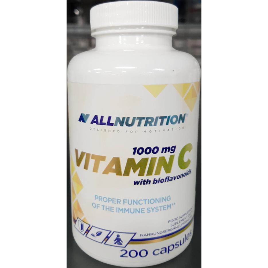 AllNutrition Vitamin C with bioflavonoids 200 kap.