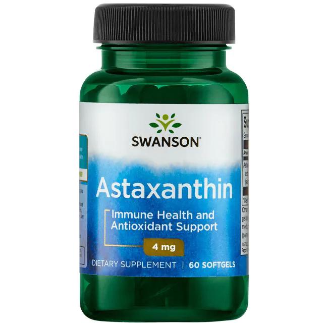 Swanson Astaxanthin 60 kap.