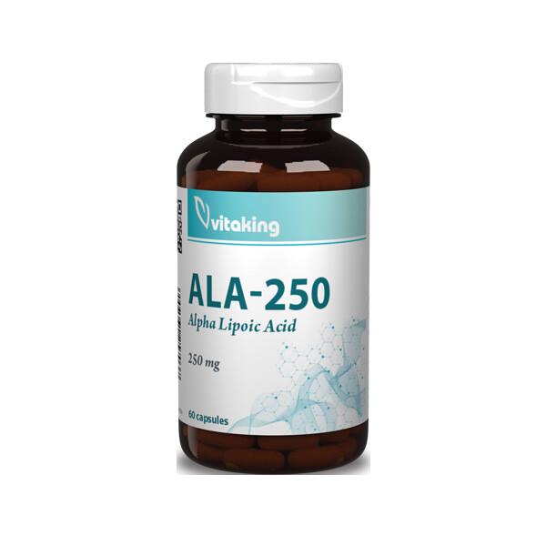 VitaKing ALA 250 60 kap.