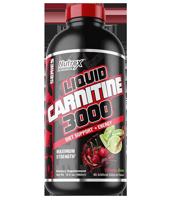 NutreX Research Liquid Carnitine 3000 480 ml