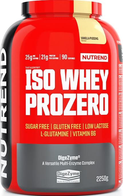 Nutrend Iso Whey Prozero 2,25 kg