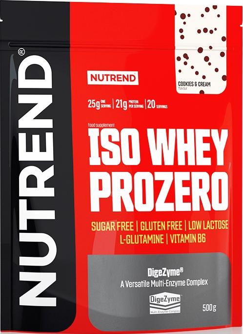 Nutrend Iso Whey Prozero 0,5 kg