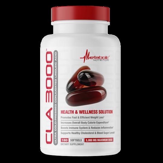 Metabolic Nutrition CLA 3000 180 kap.