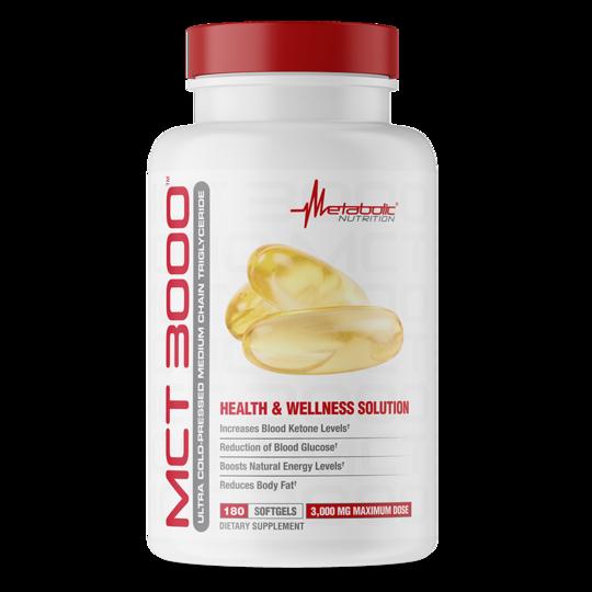 Metabolic Nutrition MCT 3000 180 kap.